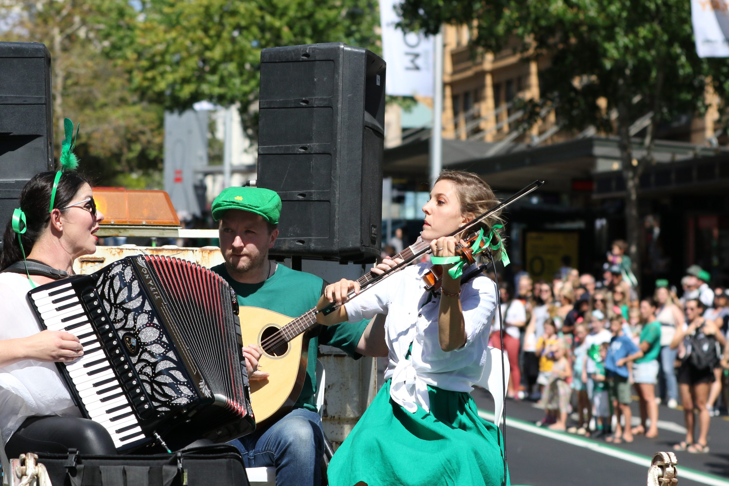 Irish music and dance festival